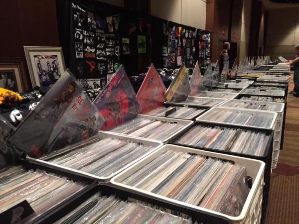 DFW Record Show, records, vinyl