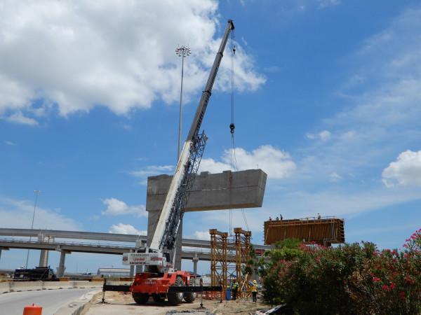 highway 288 construction forklift