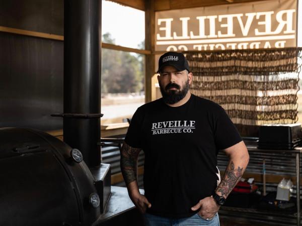 Reveille barbecue Wade Elkins