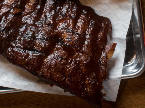 Corky's BBQ ribs