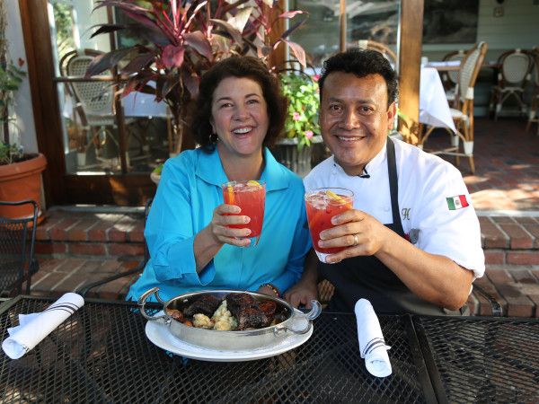 Backstreet Cafe Hugo Ortega cooking video October 2013 Tracy Vaught
