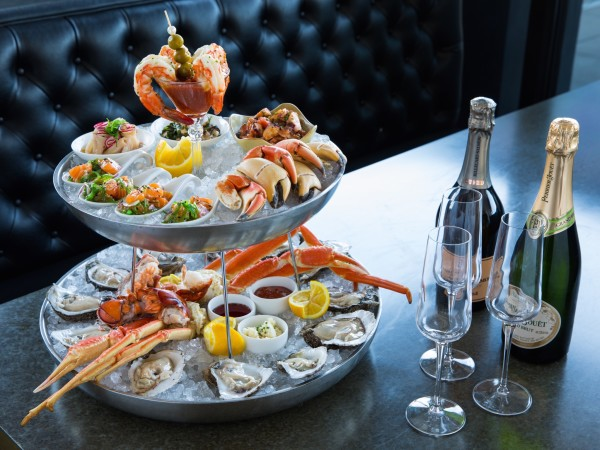 1751 Sea and Bar iced seafood tower