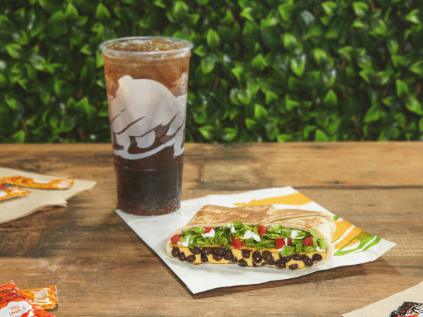Taco Bell Veg crunch wrap