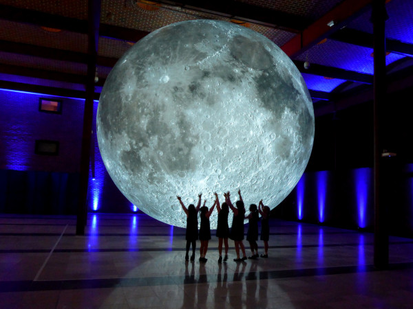 Moon by Luke Jerram Houston Museum of Natural Science