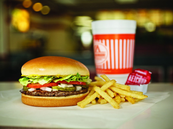 Whataburger burger french fries