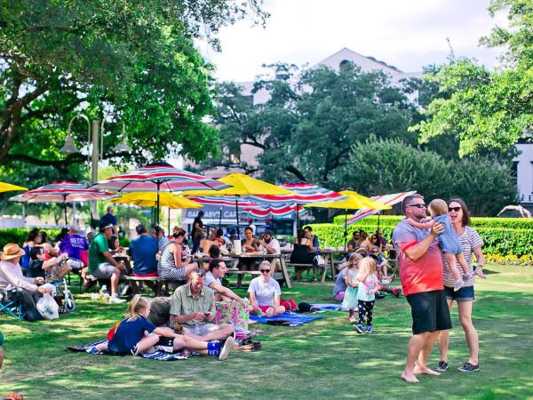 Sunday Market Square Park Houston