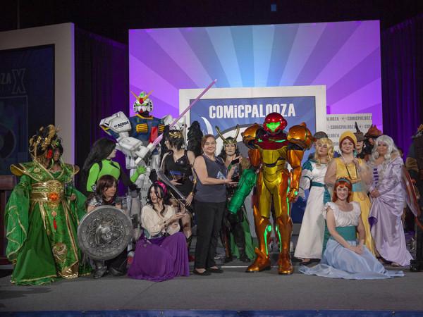Comicpalooza cosplay
