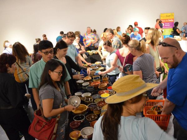 Empty Bowls Houston