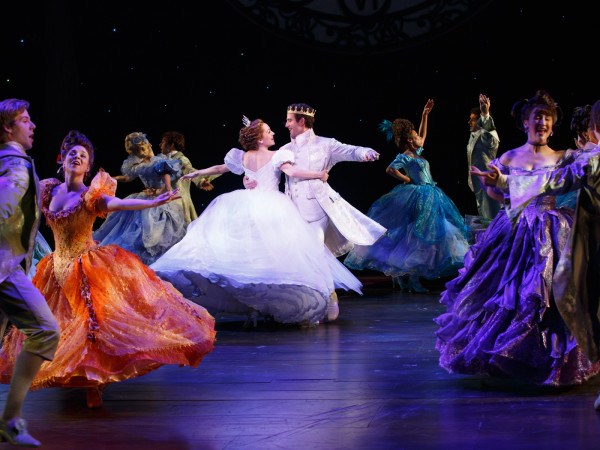 Cinderella 2294 Laura Osnes, Santino Fontana and the ensemble of Cinderella