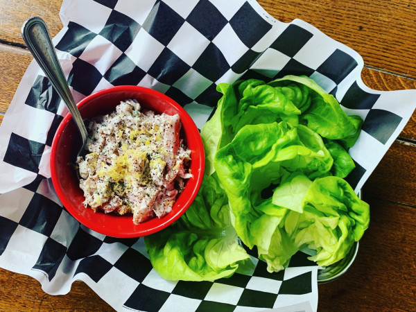 Rudyard's chicken lettuce wraps