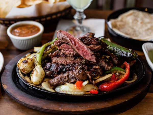 Original Ninfa's beef fajitas