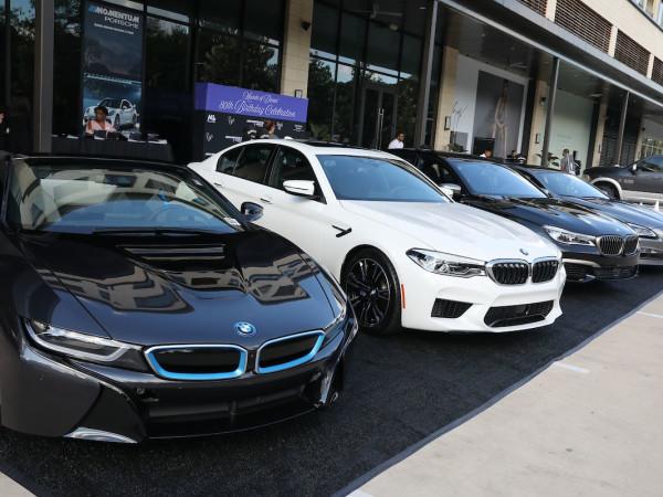 New BMWs