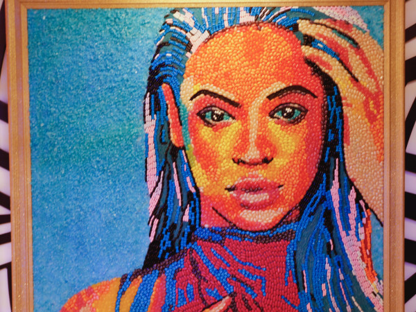 Candytopia Houston Beyonce portrait