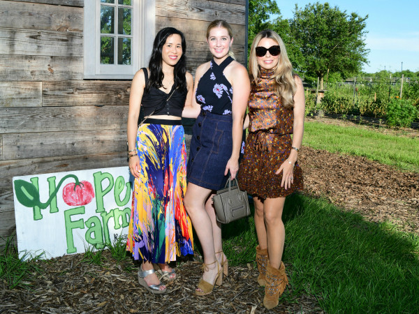 Chefs in the Field Hope Farms Summer 2019 Stephanie Fleck, Courtney Campo, Sofia Champalanne