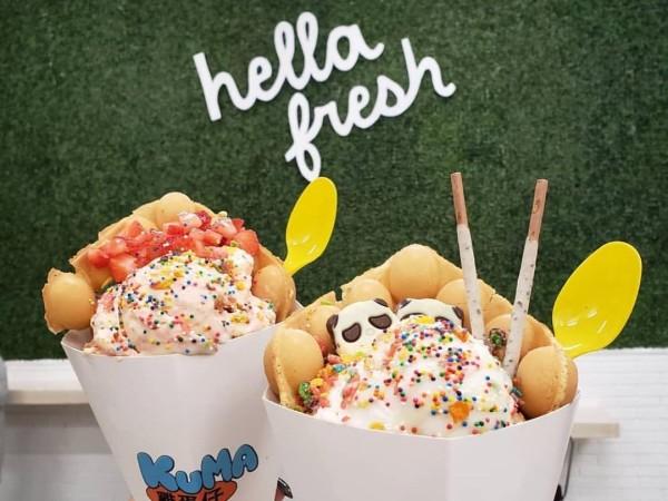 Kuma san antonio frozen dessert