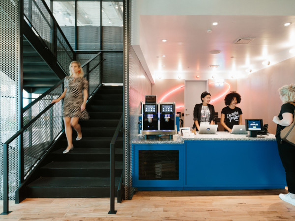 WeWork downtown houston coworking