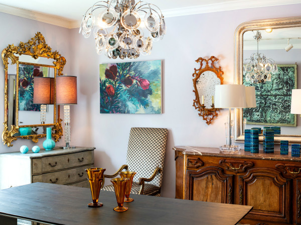 Carl Moore Home antiques