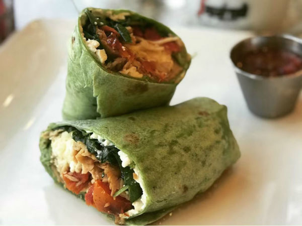 Townhouse Brunch wrap