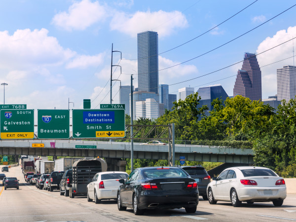 houston traffic highway