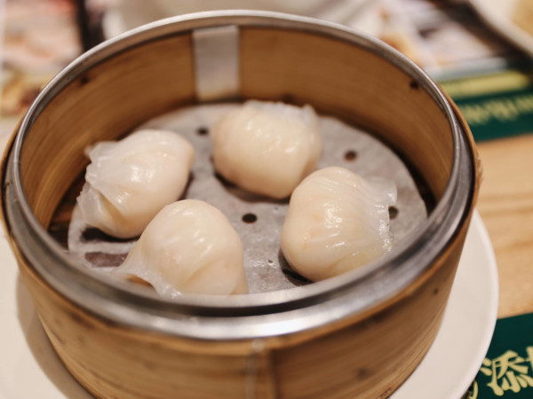 Tim Ho Wan dim sum shrimp dumplings