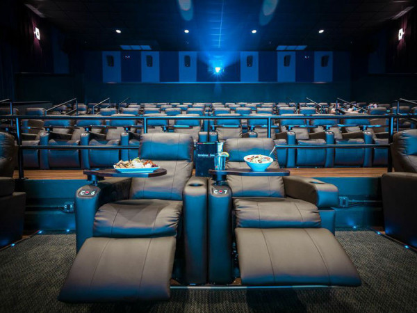 Moviehouse & Eatery auditorium interior
