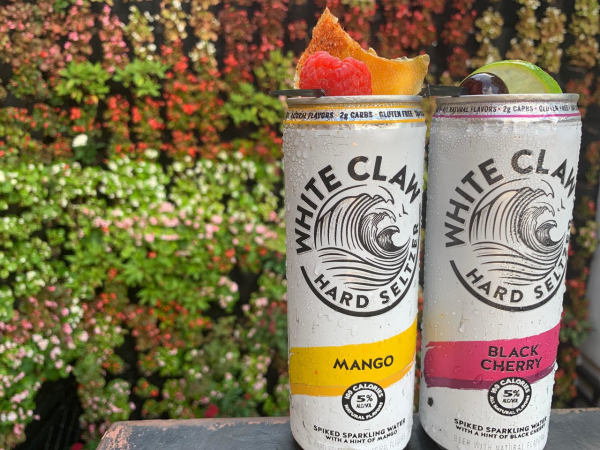 White Claw Present Company cocktails