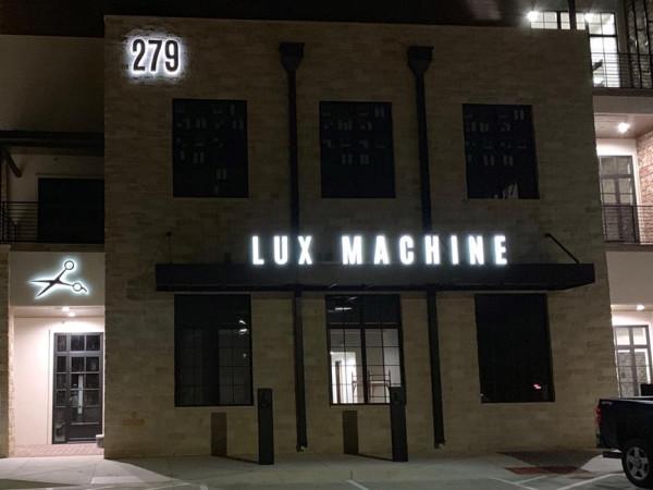 Lux Machine Chisenhall Burleson