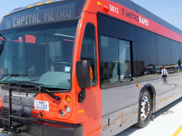 Capital Metro bus CapMetro Austin transportation