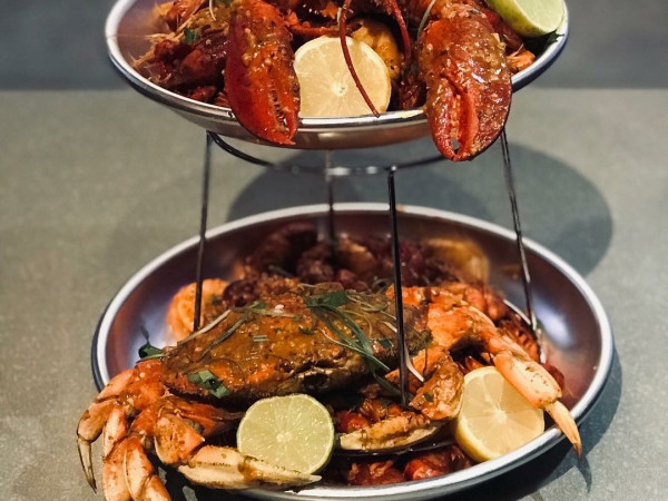 Saigon House Viet-Cajun seafood tower