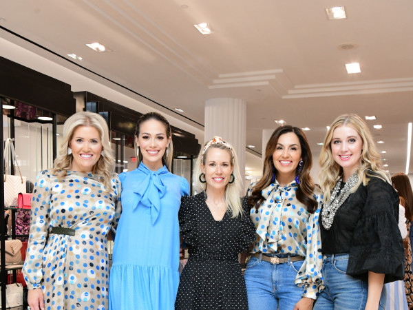 Summer Soiree Dress for Success WOW Tootsies Amanda Boffone, Daniella Rodriguez, Hunter Bell, Julie Longoria Chen, Courtney Campo