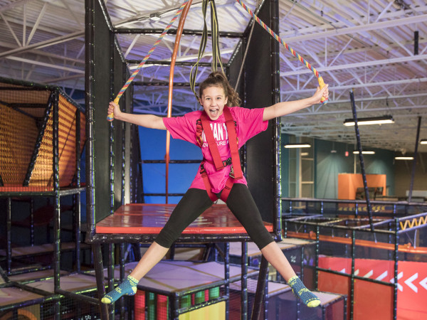 Urban Air Adventure Park kid