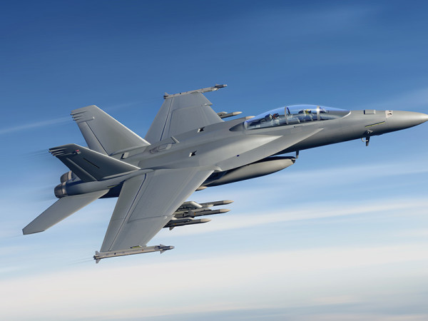 Boeing Super Hornet fighter