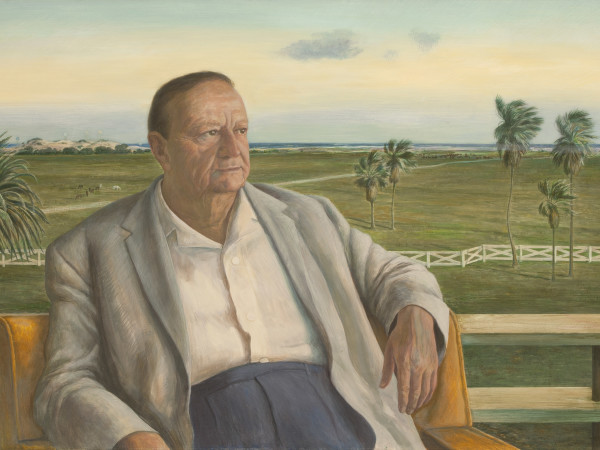 Sid Richardson portrait