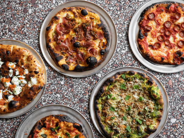 Rosie Cannonball pizzas