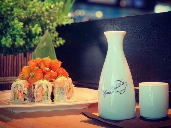 Bluefish sushi