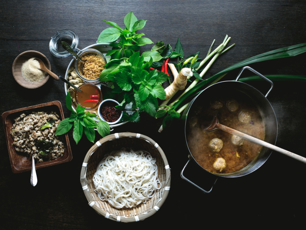 Kin Dee Thai restaurant ingredients