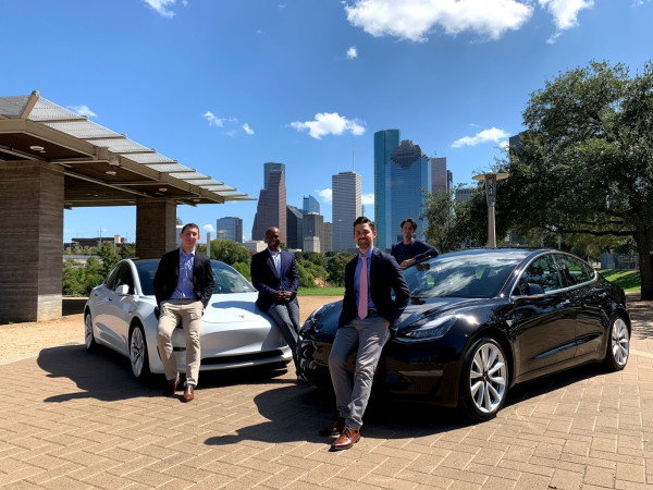 EVolve Houston team cars carbon emission