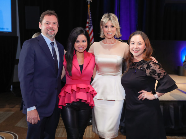 Crime Stoppers Gala 2019 Mike Stewart, Jennifer Reyna, Dominique Sachse, Tania Cruz
