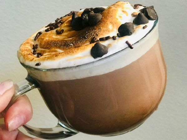 S'mores Cafe Marshmallow