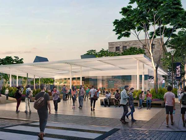 UTSA master plan campus