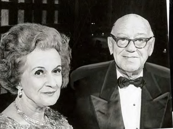 Nenetta Burton Carter and Amon G. Carter
