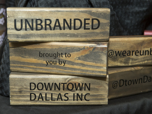 Unbranded wooden sign