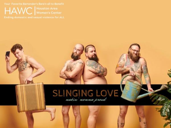 Slinging Love bartender calendar
