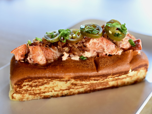 Bernie's Burger Bus Texas-style lobster roll