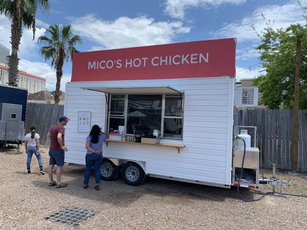 Mico's Hot Chicken trailer