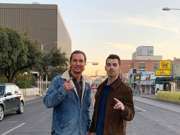 Matthew McConaughey Joe Jonas
