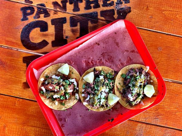 Panther City tacos
