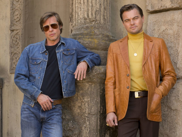 Once Upon a Time in Hollywood Brad Pitt Leonardo di Caprio