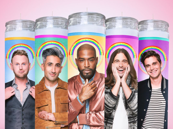 Queer Eye netflix cast candles