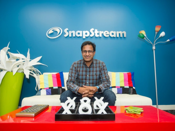 SnapStream Rakesh Agrawal